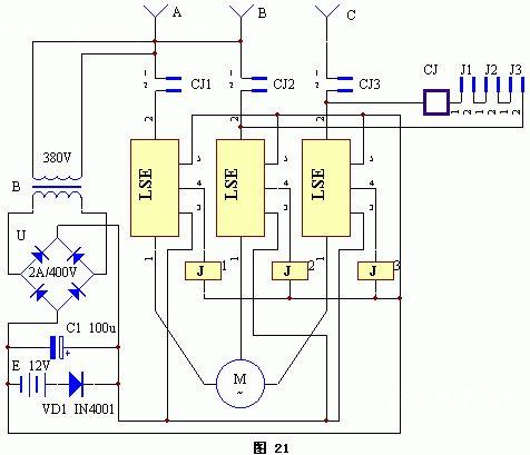 输出继电器提供无电压的可转换的连接,同时只要温度不超过正常的温度